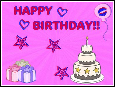 Happy Birthday for tomorrow!! :D
