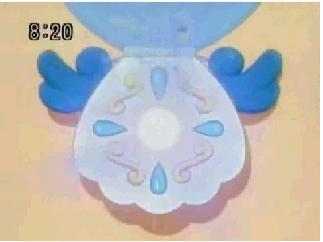 the start of haono's tranformation (mermaid melody)