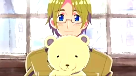 My icon is of Canada and his pet polar madala Kumajirou from a japanese comicy/show thing called Hetalia/Axis Powers Hetalia! lol XD So Cute!