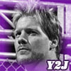 Chris Jericho (Y2J),, WWE wrestler,, and a member of Fozzy band... My fav wrestler ever <3<3