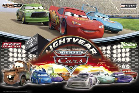 "Hey! Well, I am a very very big Pixar fan! I have an encyclopedia called ""Pixarpedia: A Complete Guide to the World of Pixar...and Beyond"" Anyway, in the Cars section of the Encyclopedia, it lists every car that's in the race, as well as their sponser and the cars' name, and mini bio. There are cars #s 11, 64, 52, 92, 63, 58, 76, 80, 101, 39, 123, 33, 4, 28, 35, 84, 56, 34, 84, 56, 34, 79, 36, 57, 93, 70,74, 117, 68, 73, 61, and 121. There is also info on some of the pit crew members and crew chiefs. However, there is no bio for car #9! But here's some lebih info on #28 and #92. #28- Aiken Axler- Aiken is a Lux Motors Co. Piston Cup v8. His sponsor is Nitroade Hi-Energy Drink and he likes to meditate #92- Murray Clutchburn- Murray is a Stodgey/Suaver ex, part of the Auto Games test track relay team. His sponsor is Sputter Stop, Cold Engine Relief. What is the color and huraian of car #9? I may be able to match it with another car in the encyclopedia. Sorry I couldn't answer your soalan about. the mysterious #9. But if anda have a soalan about any of the other cars, atau any other Pixar character atau movie, feel free to ask me!"