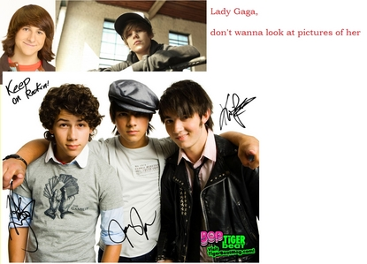 Mitchel Musso, Justin Bieber, Lady Gaga, and The Jonas Brothers!