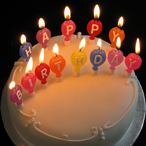 HAPPY BIRTHDAY, I wish toi best wishes and have a great an being (your age) Have lots of fun! And eat lots of cake for me! =D -Love Nicole/Nikki