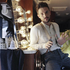 Brandon Flowers. <3  The man is beautiful, a brilliant musician and a really nice guy. How could you not love him? :)