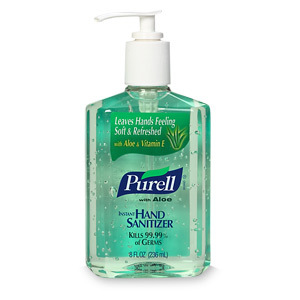 Hand Sanitizer!! It actually tastes really good! Try it!! Yumm!