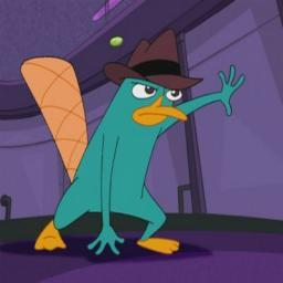 i would meet perry the platypus! He would take me to his secret agency and we would fight Dr.Doofenshmirtz and then steal cookies, biskut and eat them! Then we would relax teh rest of teh hari