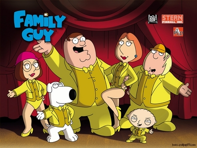 the Family Guy theme song actually is stuck in my head!