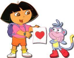 Dora! (i don't like the tunjuk though)