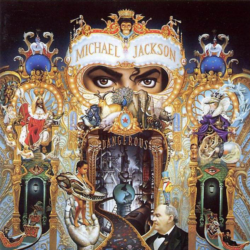 DANGEROUS!! I just love Michaels eyes on the front,brilliant design and artwork. Michael all over.....:)