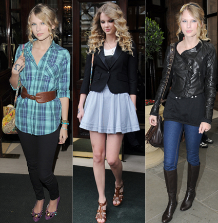 taylor swift...i Cinta her style and her music:)