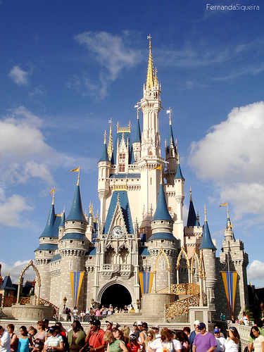 Disney World in Florida (: Besttt place EVER. so magical(: Its a couple states away from were i live but my family and i go every summer!