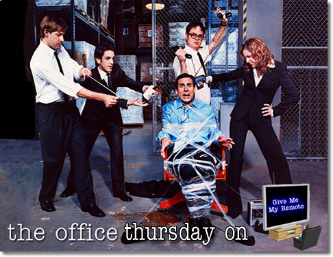 I would DIE to go on The Office.