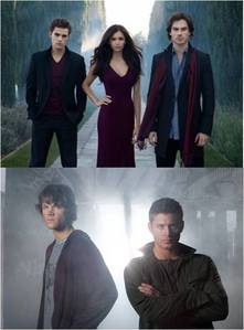 Off topic, Is anyone here interested joining my new spot dedicated to The Salvatore Brothers(Vampire Diaries) vs The Winchester brothers(Supernatural)?