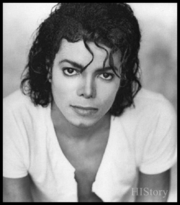 my first song was BAD!!! :) LOL and fisrt pic i saw of him he was in the bad era ;) he takes up 90% of my heart!! :)