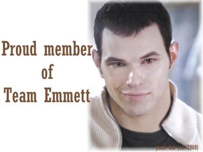 Emmett cullen is the best.