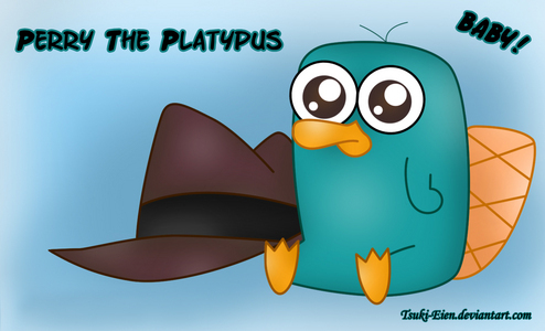 laugh like a maniac and pick up the little platypus