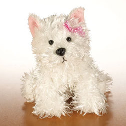Actually, I got mine YEARS ago. XD It was my birthday and I was turning like 9 или somethin around that, and I got two Webkinz. One was a white dog (as seen below), and I signed it up to the Webkinz site. I thought the Имя пользователя was going to be my pet's name, since it asked for it first, and I wanted its name to be Snowflake. Well, that was obviously taken so I tried Snowiflake and Snowyflake, but they were taken. I hate addin numbers (no offense, thats just me!) and so I made Snowiyflake. I learned that it wasnt the name for my pet's name, but I thought the Имя пользователя was really cool, so now I use it for everything! :D (srry if that was long!!)