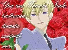 i got tamaki ^_^ hes cool... to me