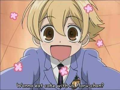 I got Mitsukuni Haninozuka!! (Aka Honey یا Hunny)lol I loove cake,cute things,and I'm kind of childish so it makes sense!