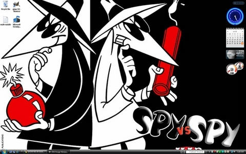 Spy vs. Spy. Its probably temporary though.