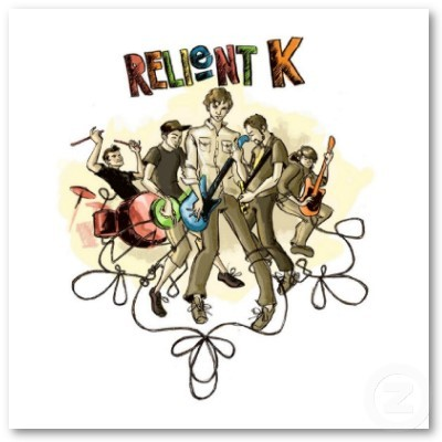 This is my wallpaper. I 爱情 it so! Relient K!!! I didn't draw it, I found it on google, but the person who did draw it is AWESOME!!!