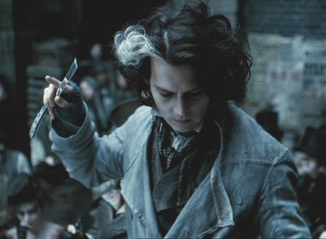 I think I'm going to be Sweeney Todd this year.