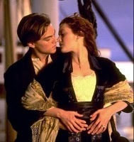 titanic 1st and when Rose jumps off the life barco and Jacks all like ur so stupid