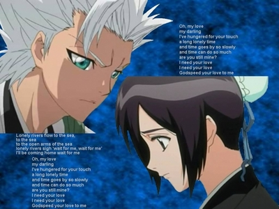 Too be with Toshiro Hitsugaya.<3