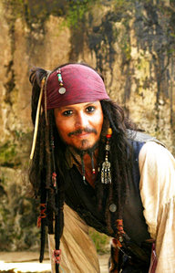 I would marry Jack Sparrow....
