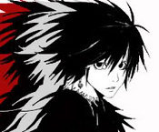 Lawliet. It's a death note thing.