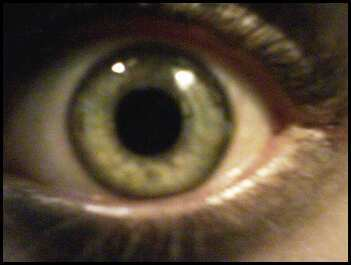 They change colors, sometimes they look blue, অথবা green, অথবা gray, but usually they're a grayish green (it's cool i've seen other people here with the same kind)This is my sister's eye, but they're the same color.