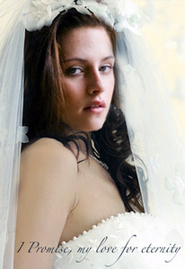 th cullen wedding and bella as a vampire!Last time to see her blue eyes!