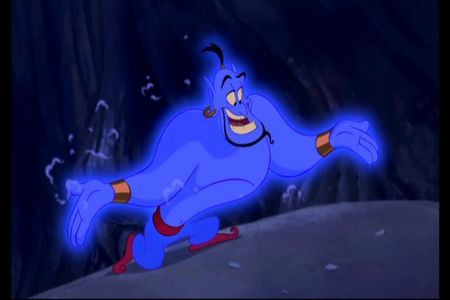 The Genie. What can I say? He's hilarious!