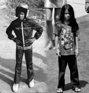 yes... Blanket looks exactly like Michael...so adorable, so sweet.. just like Michael was when he was a child!!♥ ♥