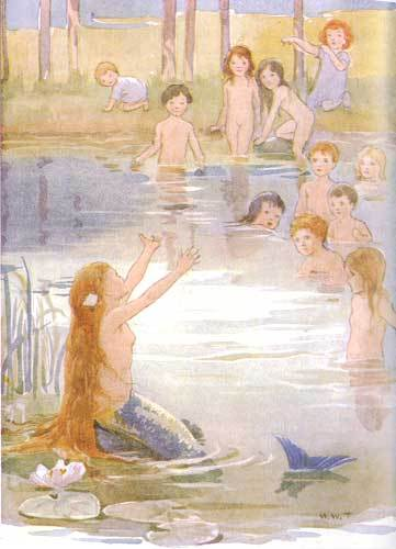 The Little Mermaid (HC Andersen) অথবা Snow white (Brothers Grimm) I remember really liking those two :)