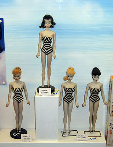 The original Barbie, launched in March 1959.