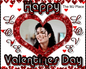 VALENTINE'S DAY!Michael,we cinta you!What do anda think ?