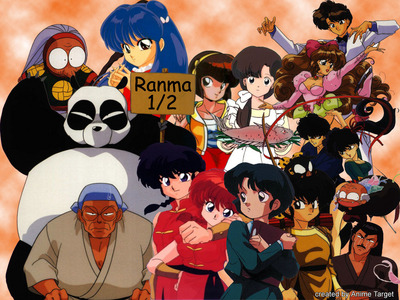 Ranma 1/2 :D it fits your descrição perfectly xD check it out :D hope u like it :3