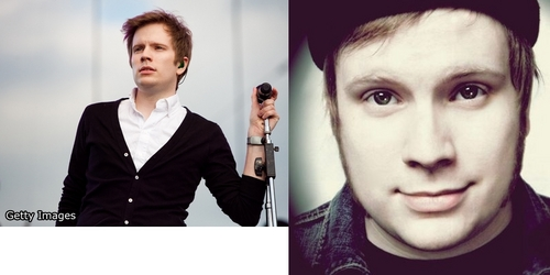 Patrick Stump singer (he was the lead singer of Fall Out Boy but they broke up and Patrick is Singing solo) Pic: (Patrick is mine so stay away from him, i Cinta him so much!!, if u go near him atau any anything about him..ur head is ripped off)on the left is a pic of him now and on the right is a pic of him long lalu