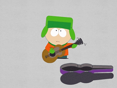 I want to dress up like one of the South Park kids, probably Kyle because I have the hat! However, I have no idea how to make a costume like that, so I'll probably be a ladybug again. :-)