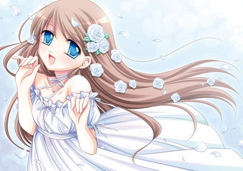 i dont know wat animé this girl is from i just found her on a website called Advanced animé