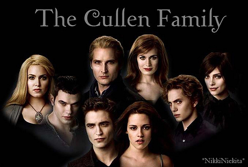 I upendo him but i am team Alice and Cullen that way i can like all of them apart for Rosaile who i don't really like that much cuz she is a little stuck up sorry anyone who is team rosaile