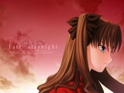 tohsaka rin from fate/stay night.