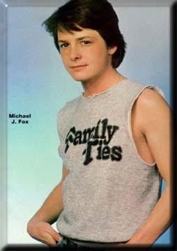Michael J. Fox. I've had a crush on him since I was 8 and he's still my all-time favourite actor <3