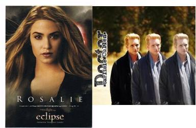 For me it's a tie between Carlisle and Rosalie.