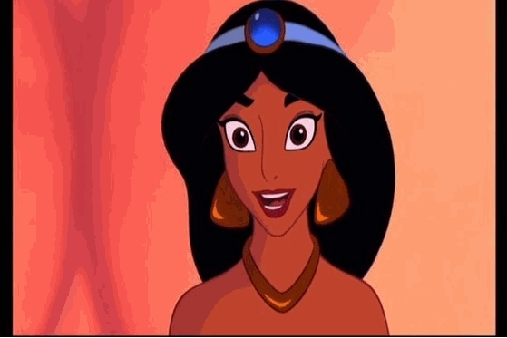 3-jasmine, 67% voted for her...long thick black hair, hot skinny body, u'll just l'amour the golden jewels, i think jafar made her even plus beautiful when he gave her the hot slave look