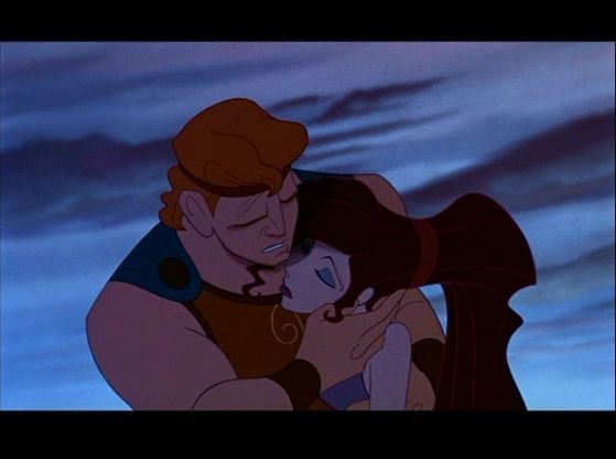 4.Meg's death she is the only heroine to really die she gave up her life to save her true Любовь Hercules with no thought of herself but was brought back to life thanks to Hercules