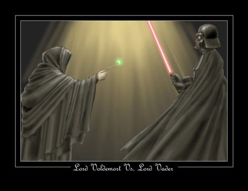 Voldemort and Darth Vader as they are