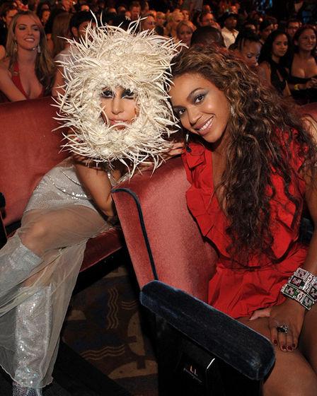 Lady GaGa and Beyonce