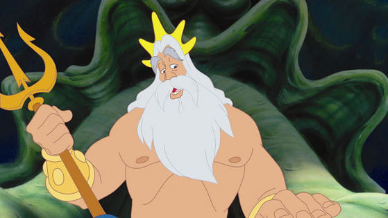 "1)King Triton, Movie:Little Mermaid, Voice:Kenneth Mars, Memorable Quote(s) ""...and Du are just the krabbe to do it."",""Oh I just don't know what we're going to do with young lady!"" Pros. great body, king of sea, very wise Cons. has a temper"